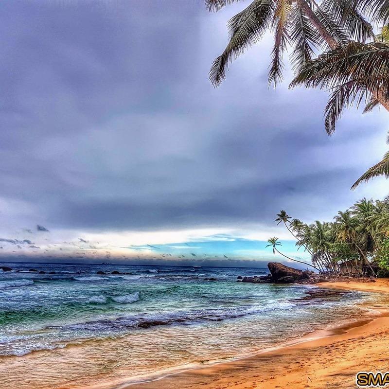 vijaya beach indiai óceán