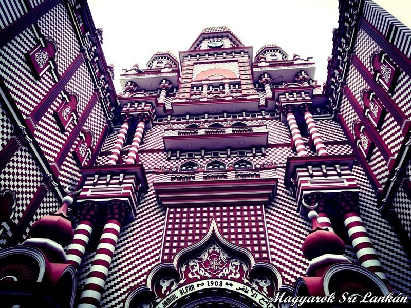 vörös mecset colombo látnivalók