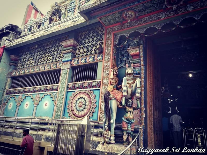 hindu templom colombo látnivalók