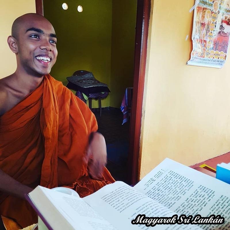 buddhista szerzetes sri lanka