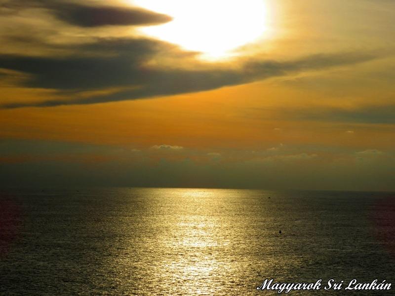 naplemente indiai óceán sri lanka