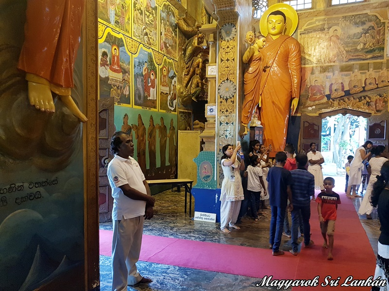 gangarama buddhista templom colombo