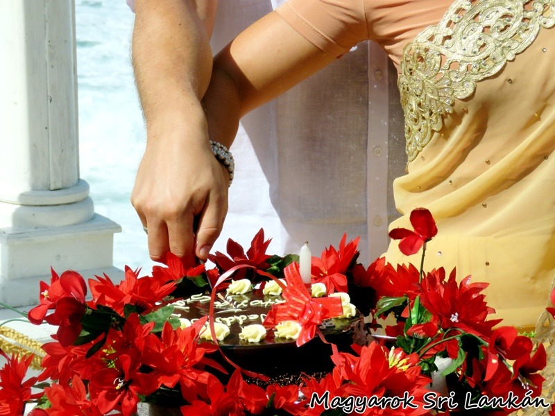 esküvő sri lanka