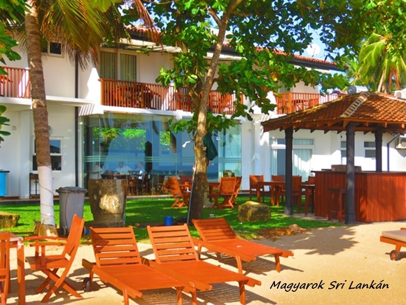 családias hotel sri lankán