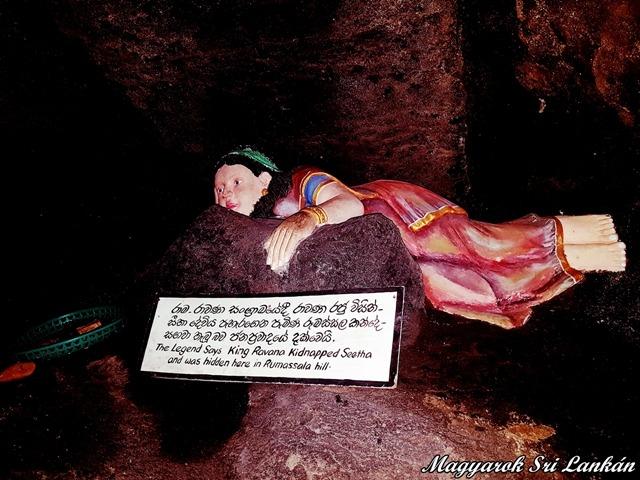 seetha a rumassala templomban unawatuna sri lanka