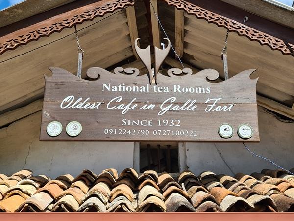 galle fort kávézó